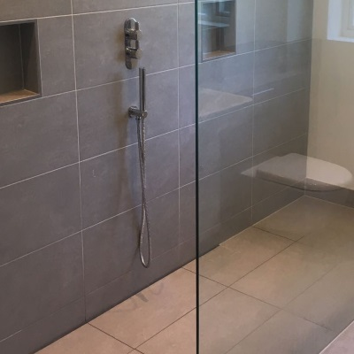 Infinity Wetroom Drain Installed in Three Domestic Wetrooms